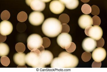 luz, círculos