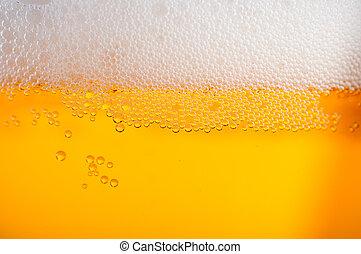 luz, cerveja, fundo