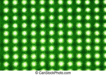 luz, diodos, emitir