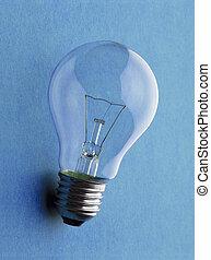 luz elétrica, bulbo, -, glã¼hbirne