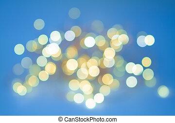 luz, emitir, diodos