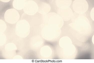 luz festiva, resumen, bokeh, defocused, plano de fondo