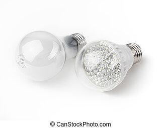 luz, fue adelante, incandescente, bombillas