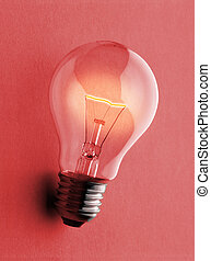 luz, glã¼hbirnelight, -, gl?e, bulbo