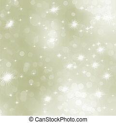 luz ouro, abstratos, eps, experiência., 8, natal