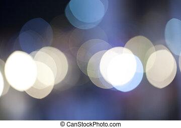 luz, resumen, bokeh, plano de fondo