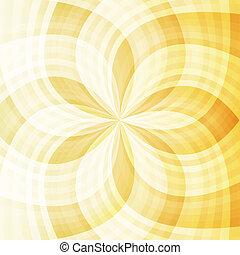 luz, resumen, fondo amarillo, naranja, transparente