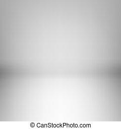 luz, sala, vazio