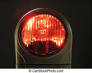 luz, vermelho