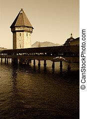 Luzern Chapel bridge