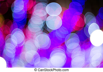 luzes, abstratos, fundo, defocused, coloridos