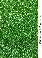 luzes, abstratos, verde, defocused, fundo