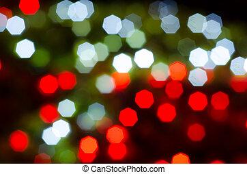 luzes, bokeh, defocused