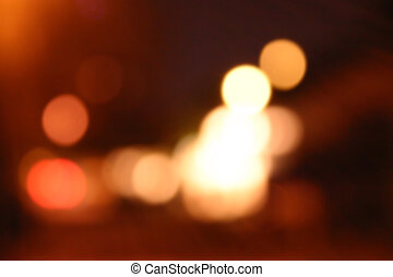 luzes, borrão
