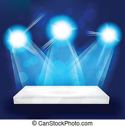 luzes brilhantes