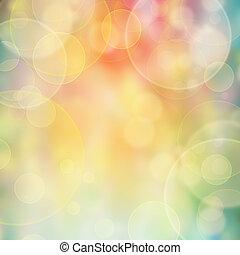 luzes cor, borrão, fundo