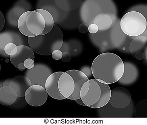 luzes, defocused