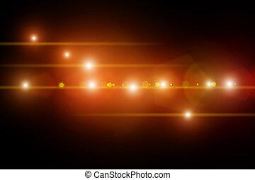 luzes estágio