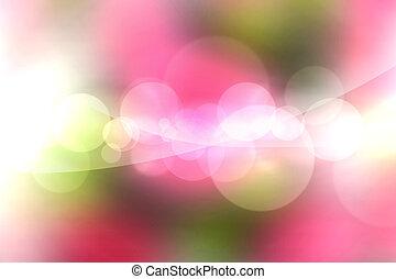 luzes, experiência blurry, padrão
