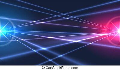 luzes, laser, fundo