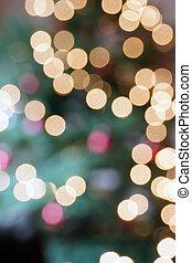 luzes natal, árvore