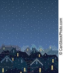 luzes, natal, cidade