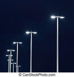 luzes, rua