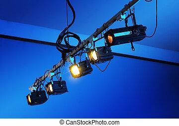 luzes, teatro