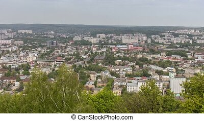Timelapse of Lviv city.