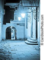 Lviv courtyard