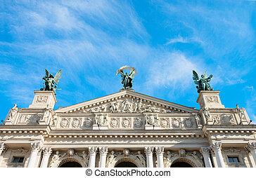 Lviv Theatre of Opera and Ballet, Ukraine