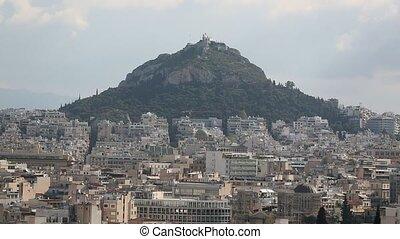 Lycabettus Hill, Athens, Greece. (HD)