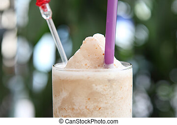lychee, smoothie