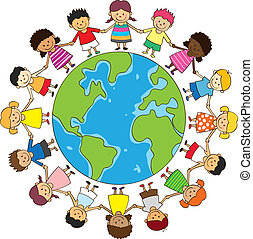 lycklig, barngårdsbruksenheten räcker