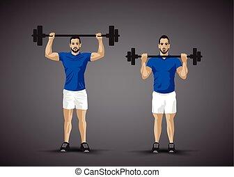 lyftande vikt