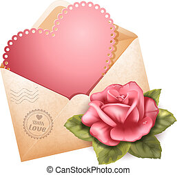 lykønskning, dag, valentine's