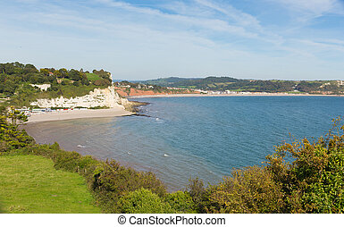 Lyme bay and Beer & Seaton beaches