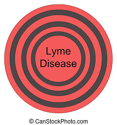 Lyme Disease Red Bullseye making a great concept for the...