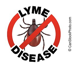 Lyme Disease Tick Bite Icon