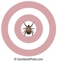 Lyme Disease, Tick, Bulls eye Rash - Lyme Disease graphic ...