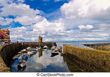 Lynmouth Harbour , N.Devon , UK