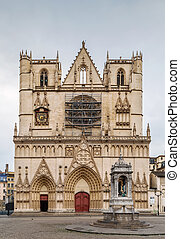 Lyon cathedral, France