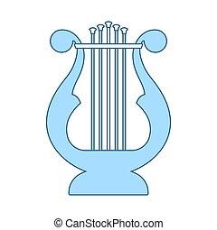 lyre, ícone