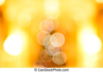 lys, bokeh