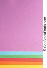 lysande, färgrik, papper