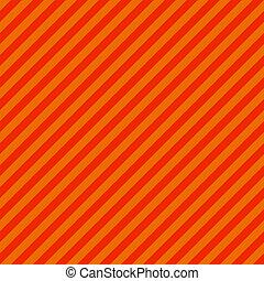 lysande, orange och röda, snedstreck galon