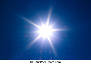 lysande, sol