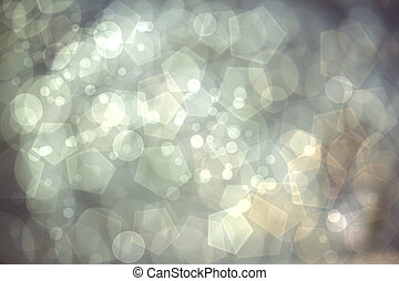 lyse, bokeh, abstrakt