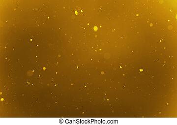 lyse, glitter, jul, bakgrund, defocused