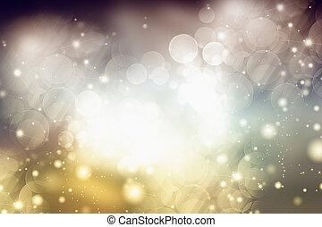 lyse, helgdag, bakgrund, abstrakt